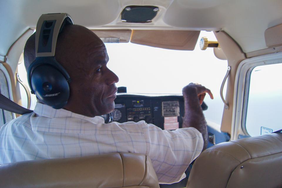 pilot samolotu minimalizm