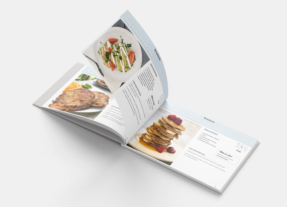 książka z wegańskimi przepisami na prezent