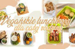 Wegańskie lunchboxy