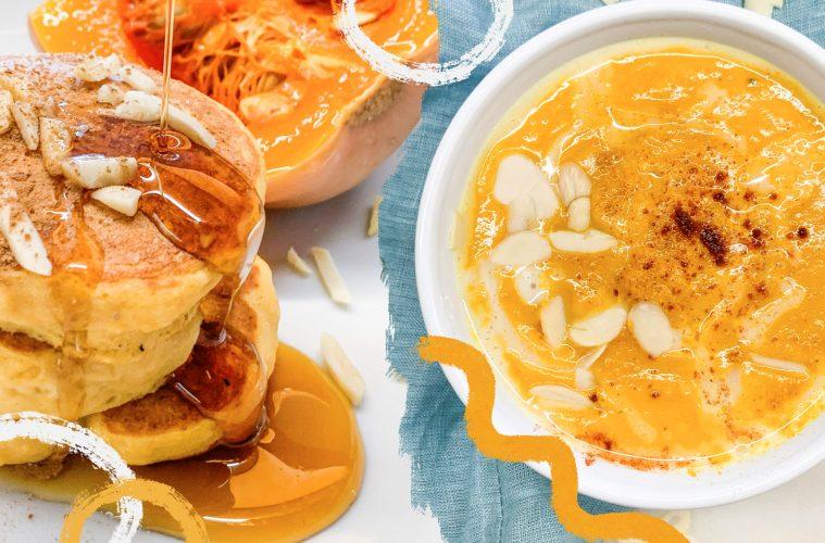 Tani weganizm przepis na pancakes i krem z dyni