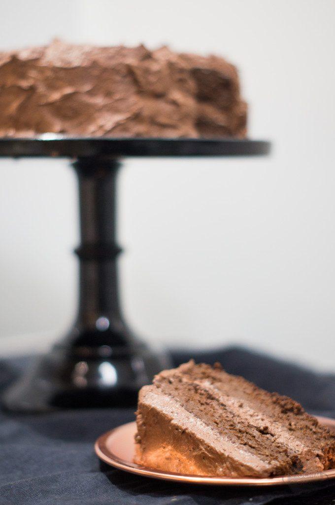 Przepis na wegański tort czekoladowy z czekolady