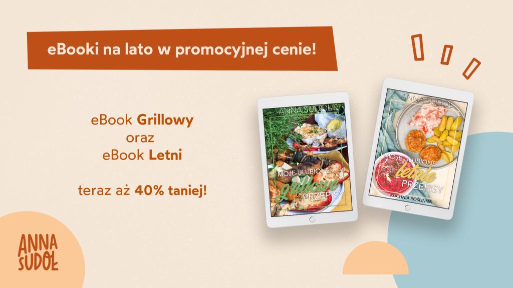 Promocja -40% na wegańskie eBooki Anny Sudoł