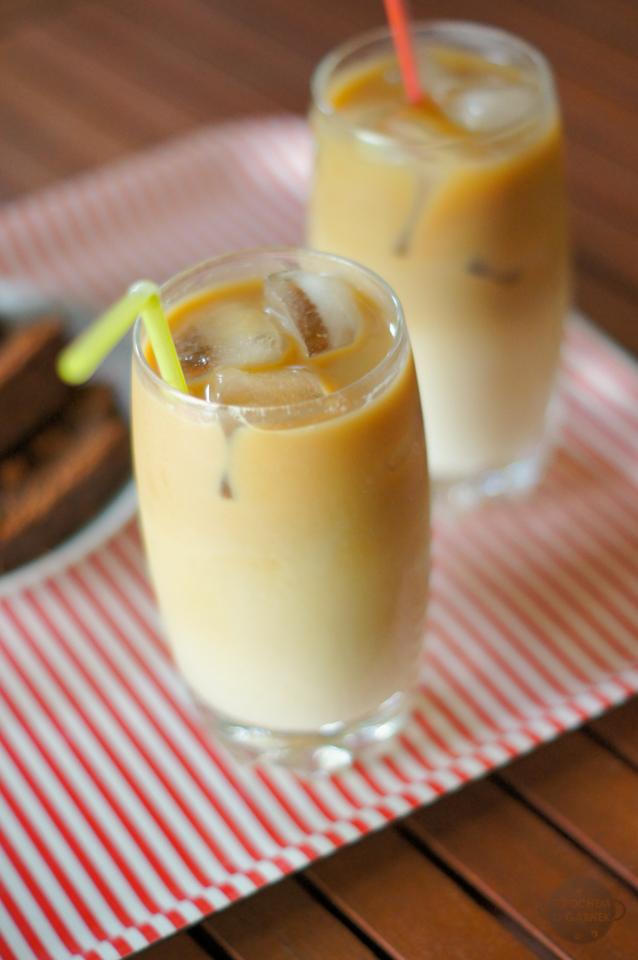 Kawa mrożona przepis, orzeźwiający napój na upały dania na upalne dni